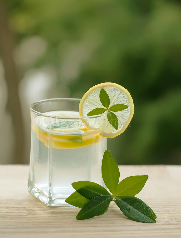 Lemonade or lemon squash as summer beverage to quench your thirst. When it is hot stock photos