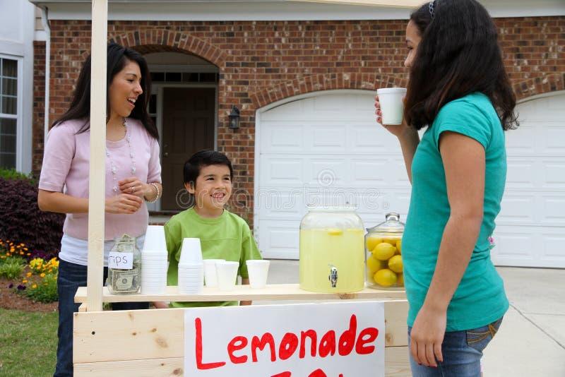 Lemonade Stand Stock Image