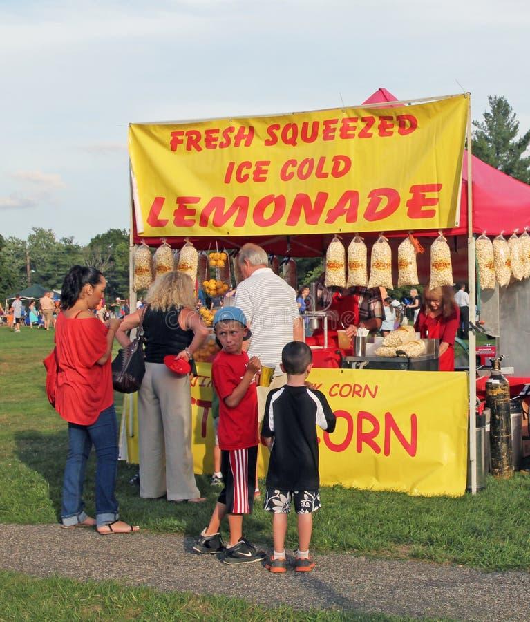 Download Lemonade Stand editorial stock image. Image of lemonade - 26063384