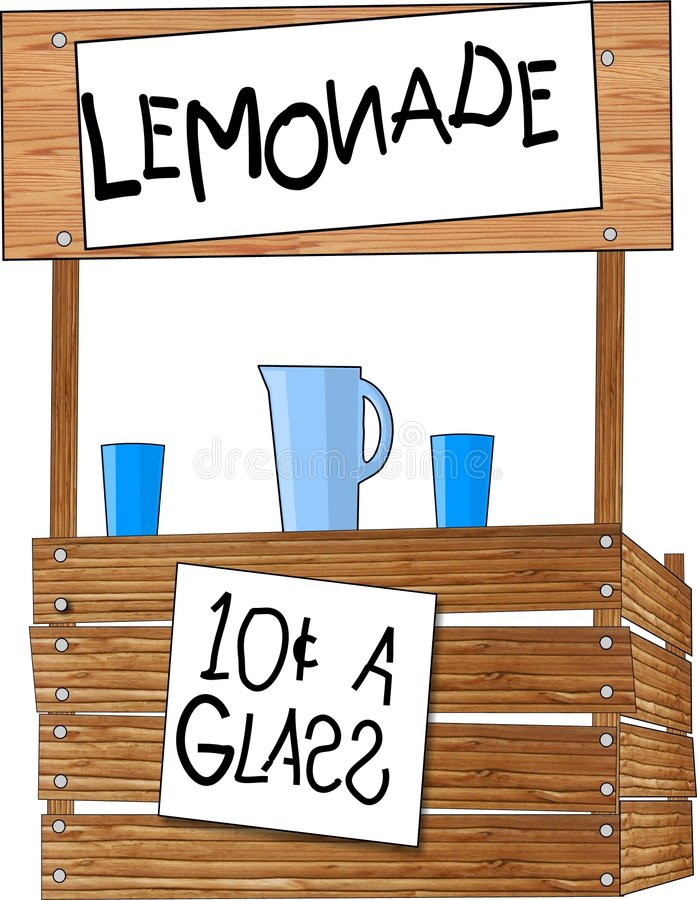 Free Lemonade Stand Stock Photo - 50480