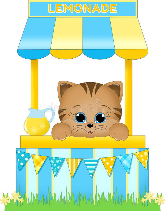 Lemonade Stand stock illustration