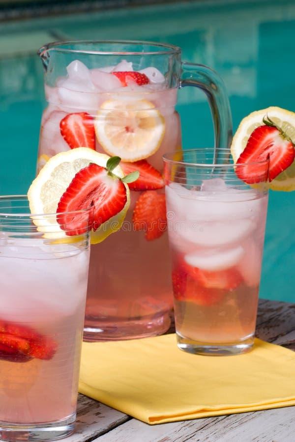lemonadepink fotografering för bildbyråer