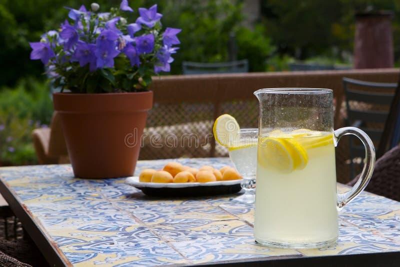 lemonadesommartid royaltyfri bild