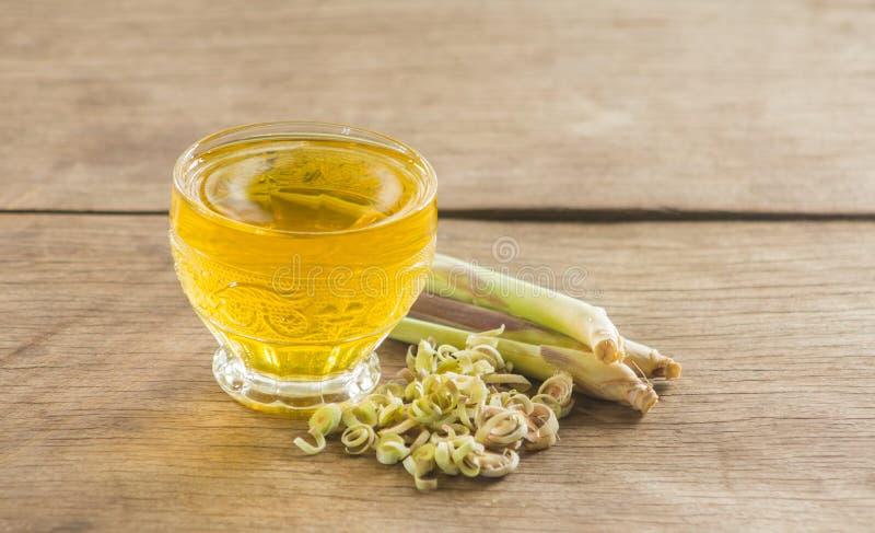Lemongrassfruktsaft arkivbild