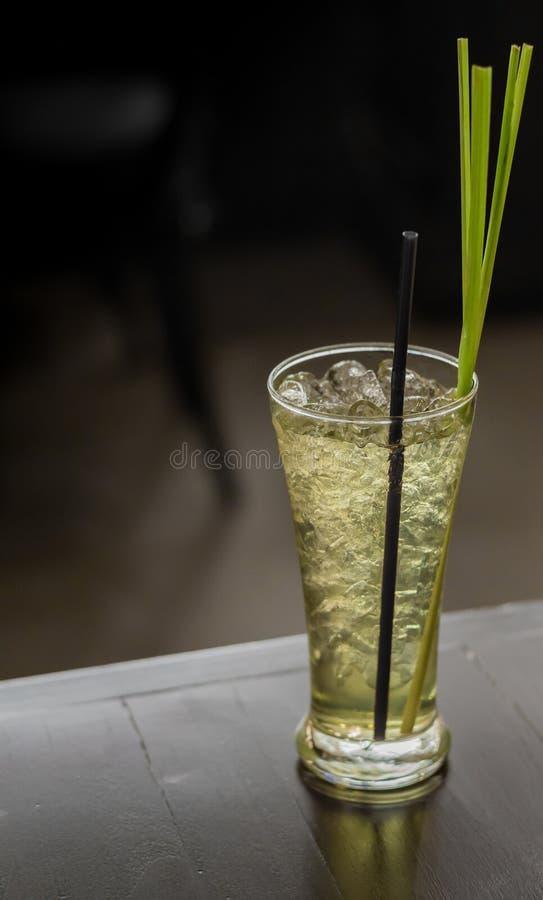 Lemongrassfruktsaft, fruktfruktsaft arkivbilder