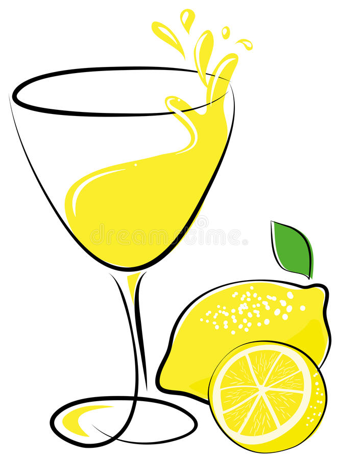 Lemoniada royalty ilustracja