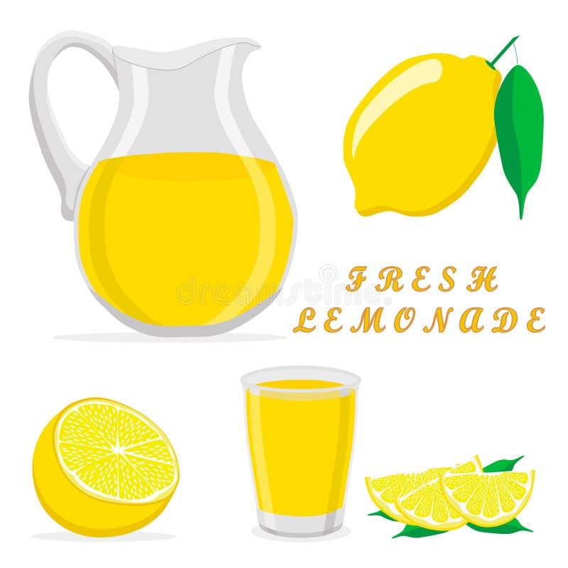 Lemoniada ilustracja wektor
