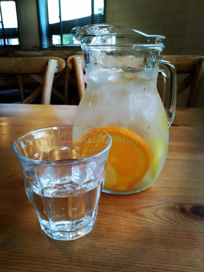 Lemoniady woda zdjęcia stock