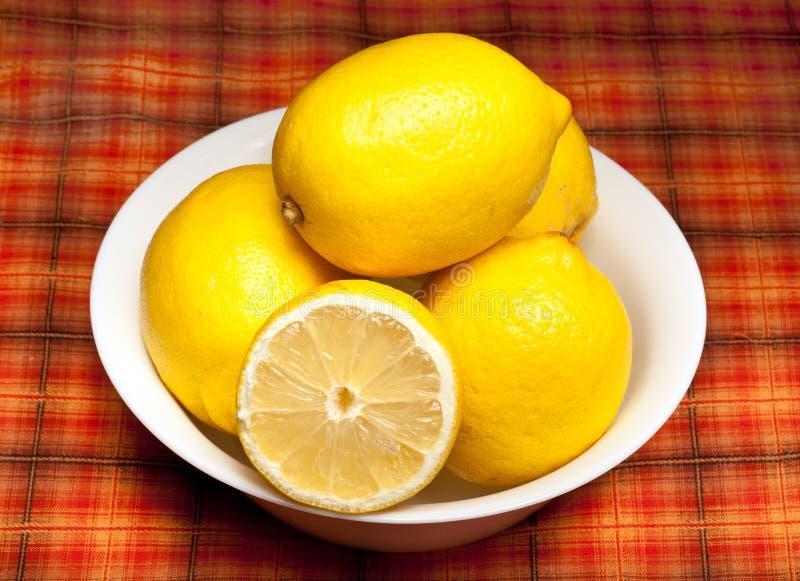 Download Lemons stock image. Image of lemons, bowl, colorful, white - 22924583