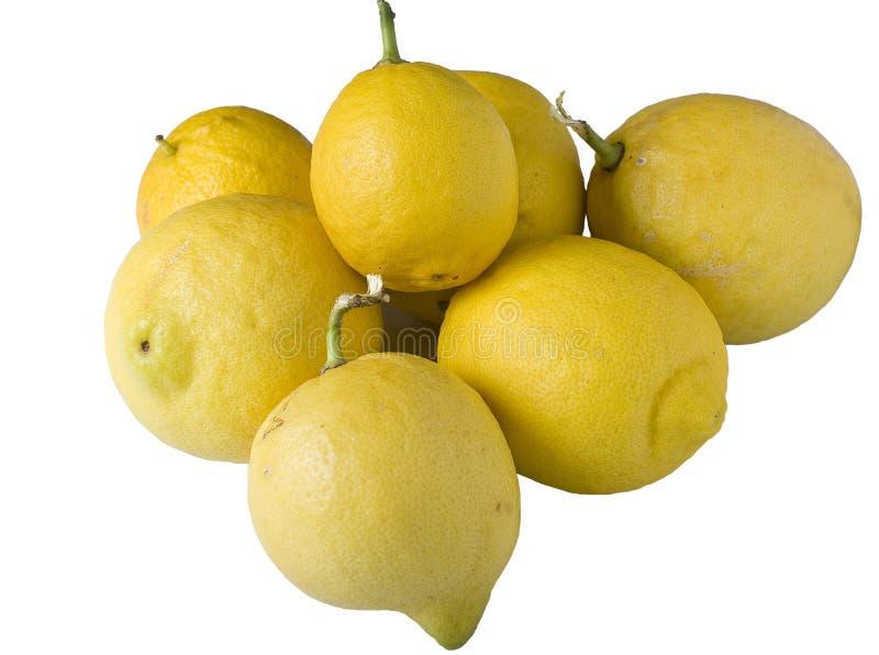 Lemons Bunch stock image