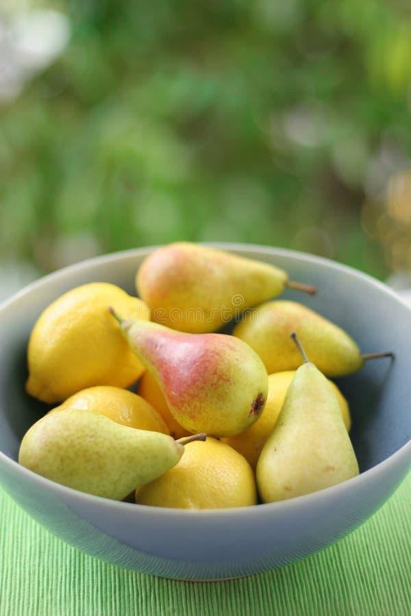 Download Lemons & Pears stock image. Image of tasty, pear, lemons - 166259
