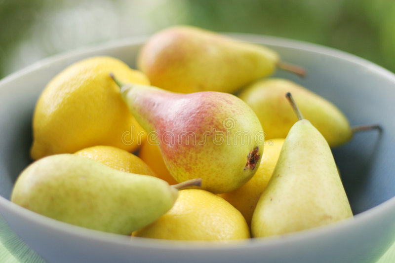 Download Lemons & Pears stock image. Image of life, dessert, fresh - 166261