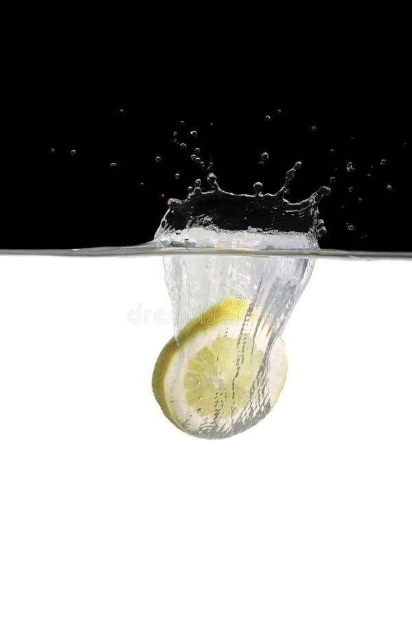 Free Lemonslice In Water 2 Royalty Free Stock Photo - 13791435