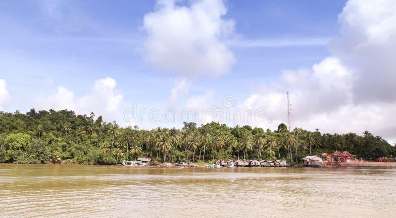 Lemukutan island. Is most hidden island in indonesia stock photo