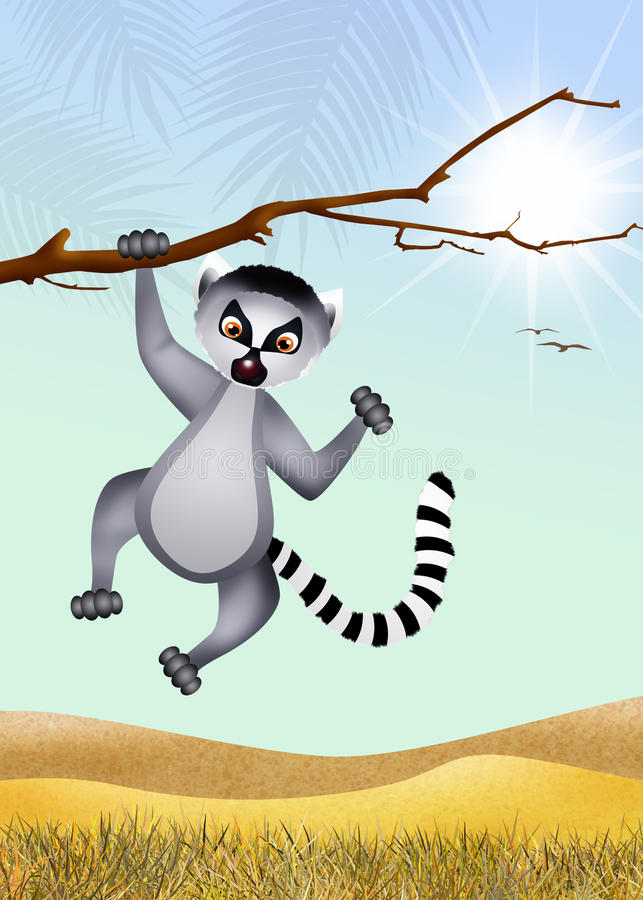lemur libre illustration