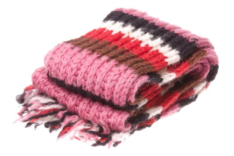 Lenço de lã nepalês isolado imagem de stock