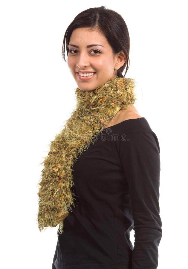 Lenço do Couture do ouro fotos de stock royalty free