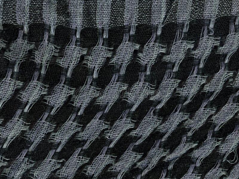 Lenço quadriculado Macro foto de stock