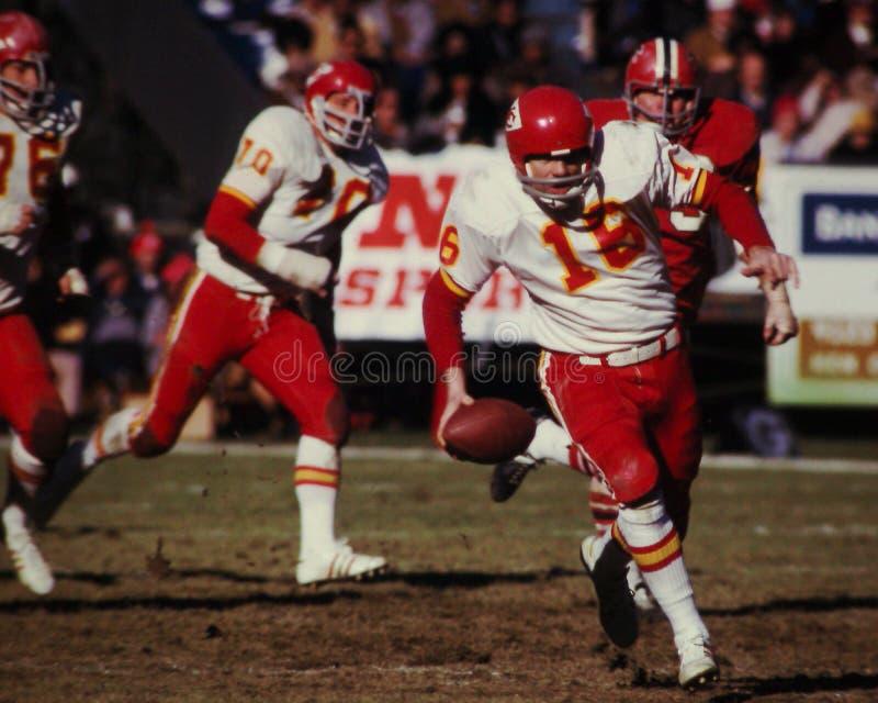 Len Dawson Kansas City Chiefs fotos de stock royalty free