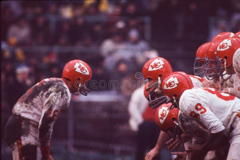 Len Dawson. Kansas City Chiefs Hall of Fame QB Len Dawson. Image taken from color slide stock images