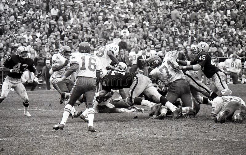 Len Dawson #16 van de Kansas City Chiefs stock afbeelding