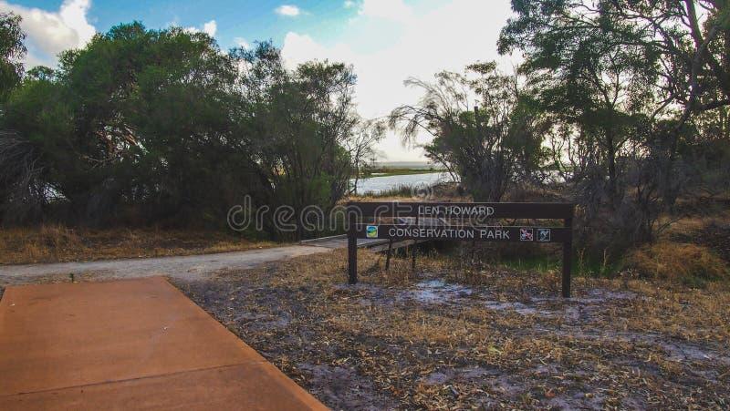 Len Howard Conservation Park perto de Mandurah, Austrália Ocidental imagens de stock royalty free
