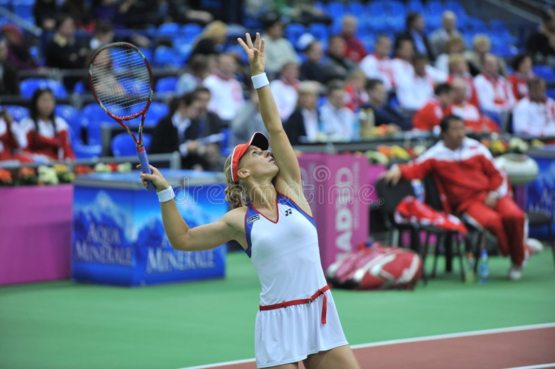 Lena Dementieva-Rússia foto de stock royalty free