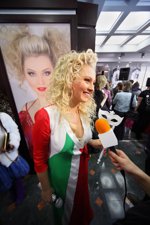 Download Lena Lenina At Venetian Costume Masquerade Editorial Image - Image: 20697985