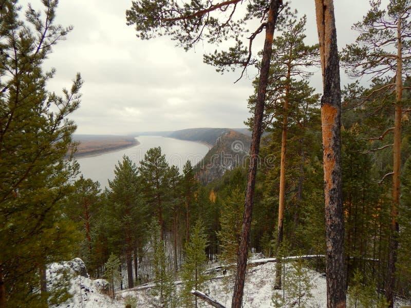 Lena River arkivbild