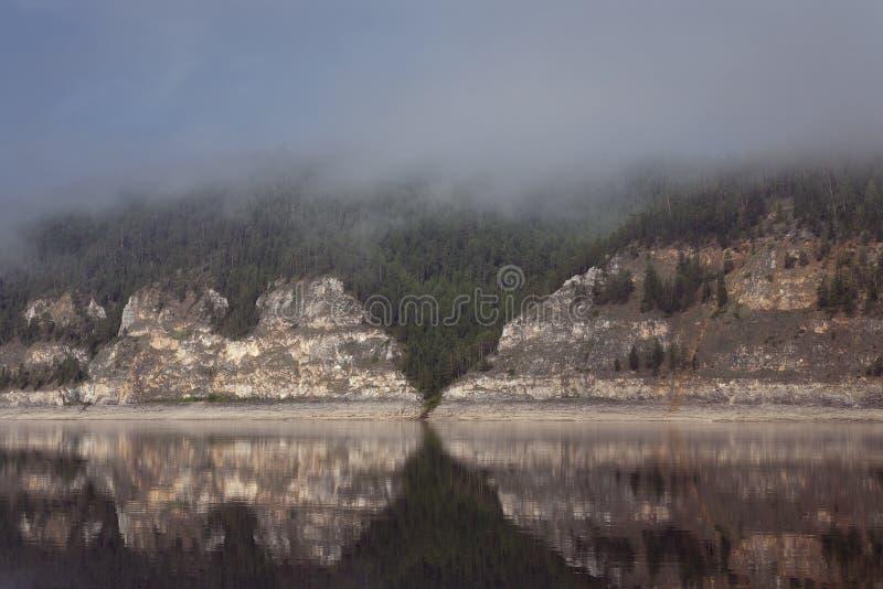 Lena River lizenzfreie stockbilder