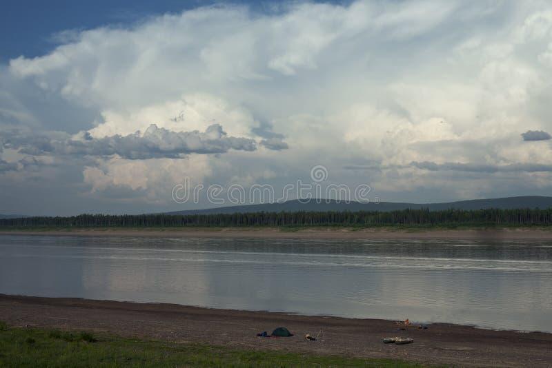 Lena River fotografía de archivo
