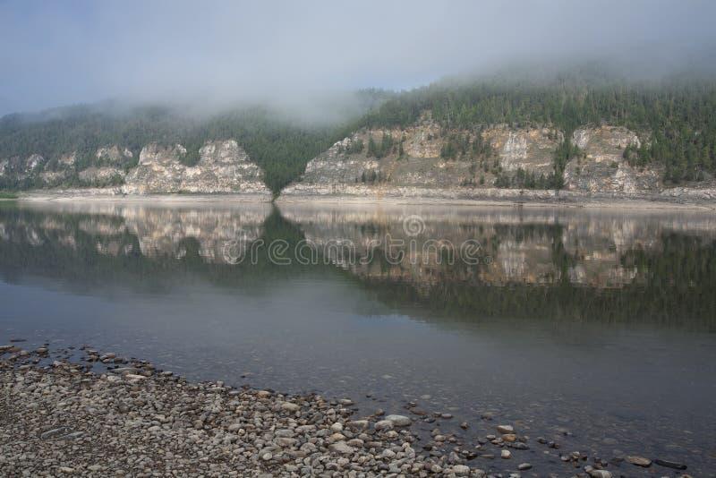 Lena River royaltyfria foton