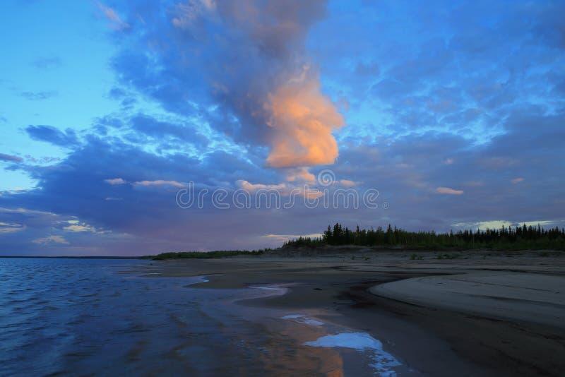 Lena River fotografering för bildbyråer