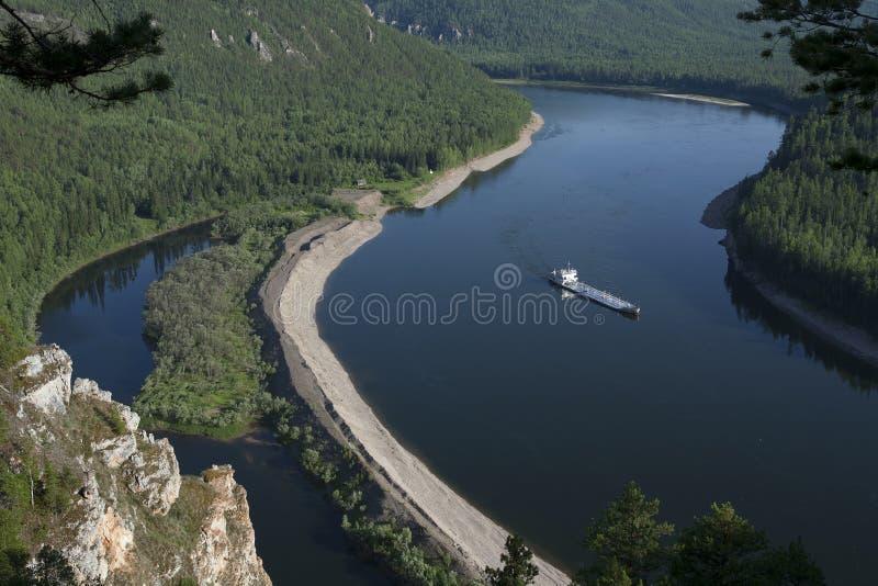 The Lena River royalty free stock photos