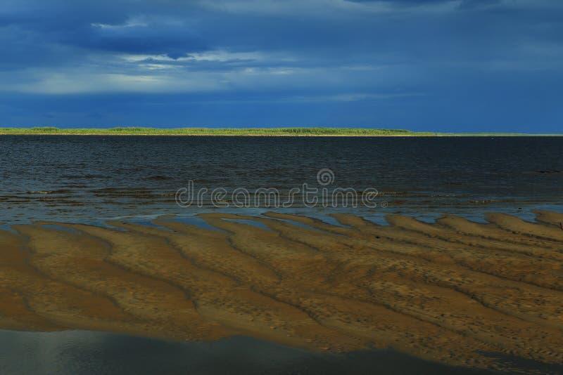 The Lena River. stock photo