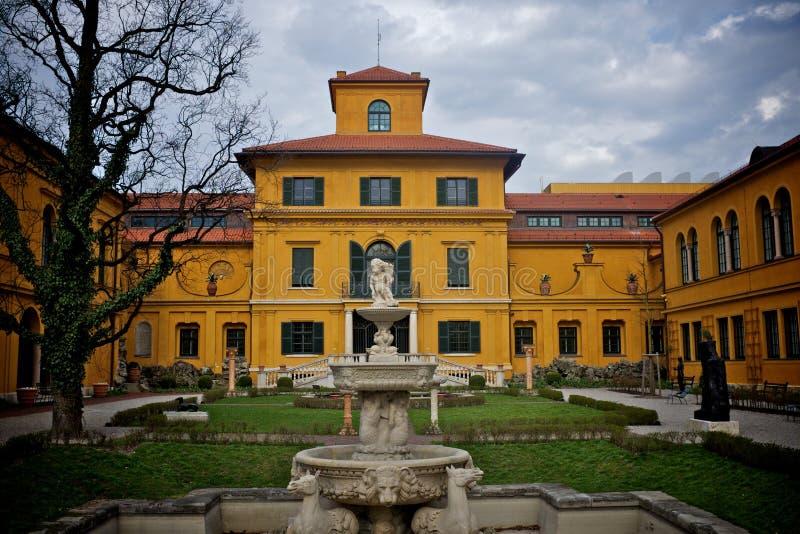 Lenbachhaus Monaco di Baviera Germania fotografia stock libera da diritti