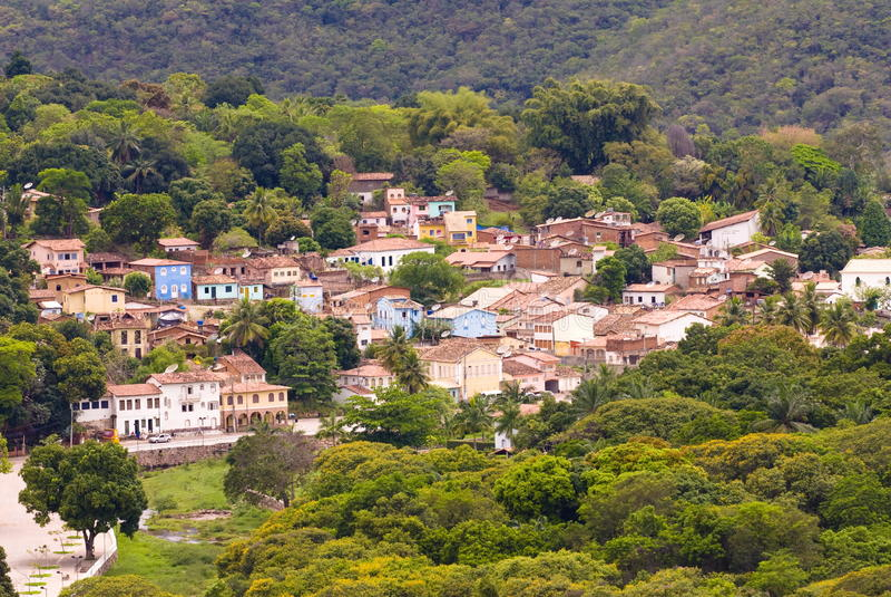 lencois Бахи Бразилии стоковые фотографии rf