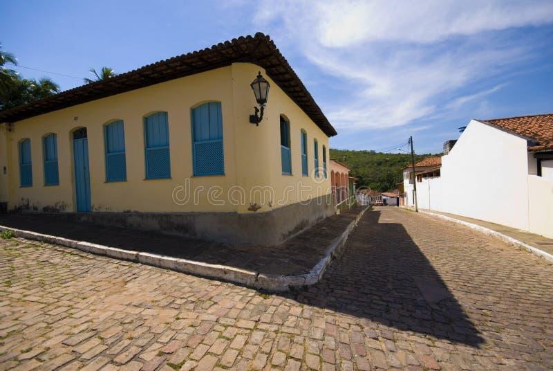Lencois - Brazilië stock foto