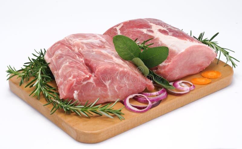 Lende von Schweinefleisch stockbild