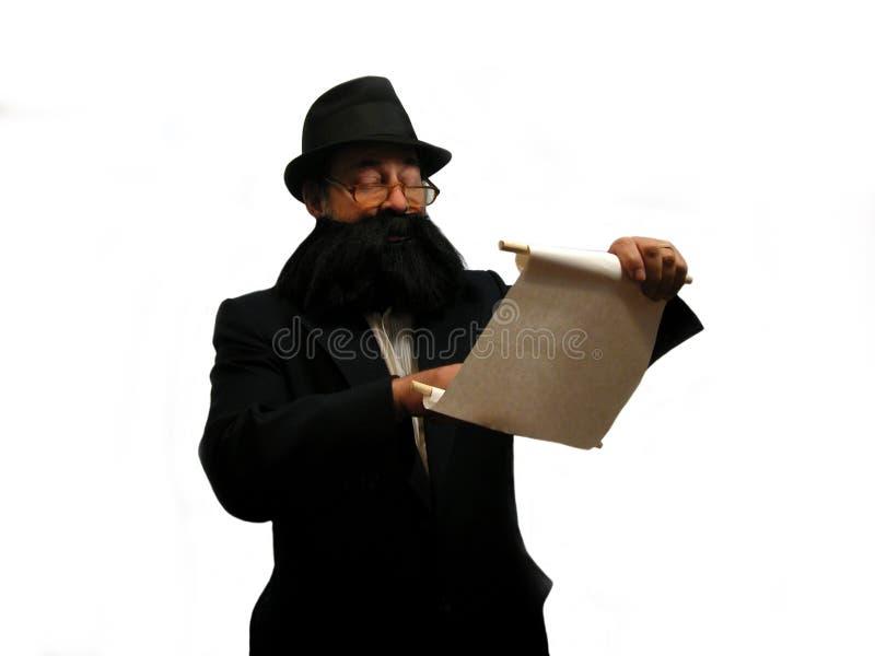 Lendo o Torah fotografia de stock royalty free