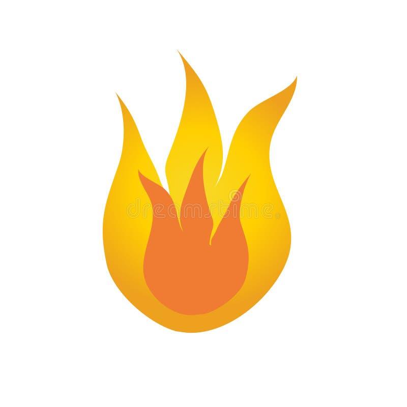 Lengüeta del fuego libre illustration
