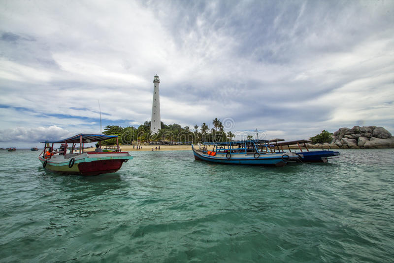 Lengkuas-Insel stockfotos