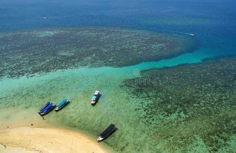 Lengkuas-Insel, Belitung, Indonesien lizenzfreies stockbild