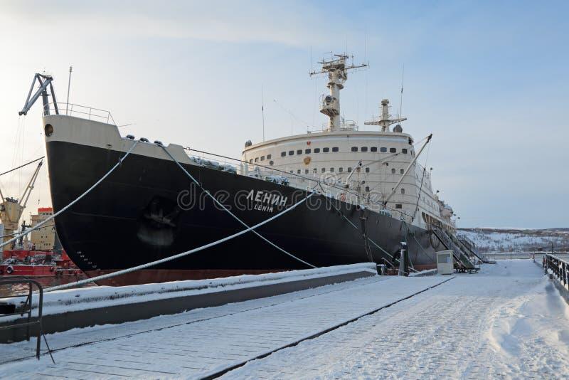 Lenin jądrowy icebreaker zdjęcie royalty free