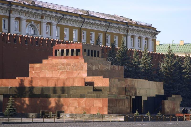 Lenin mausoleum stock photos