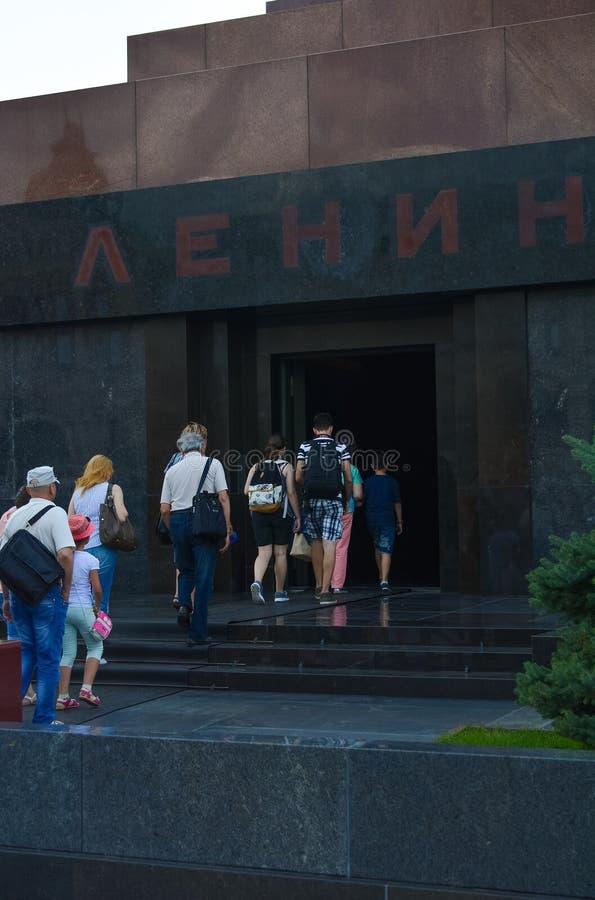 Lenin Mausoleum royalty free stock photography