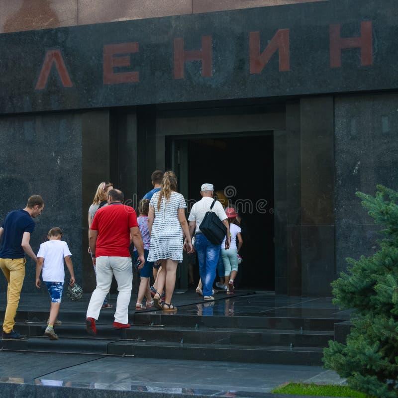 Lenin Mausoleum stock images