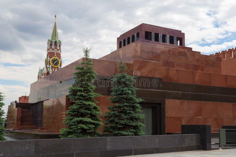 Lenin-Mausoleum, Russland lizenzfreie stockfotografie