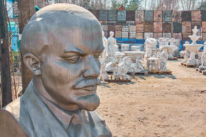 Lenin na venda foto de stock royalty free