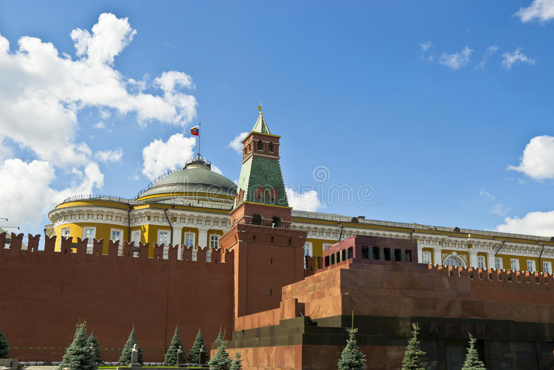 Download Lenin's Mausoleum stock photo. Image of mausoleum, architecture - 25858878